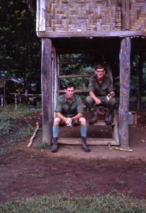 R Butcher & R Newton Efogi Village 1968