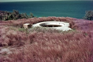 Gun emplacement, Port Moresby - 1968