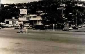 Port Moresby and the well known policeman