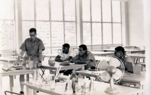 Science class at Taurama