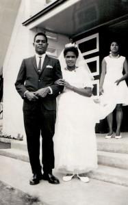 Sgt. Jack Ako on his wedding day