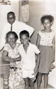 Sgt. Jim Kamong with his family