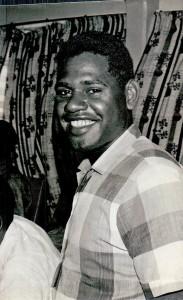 Sgt John Sameso from Bougainville
