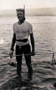 Sgt Ross Bailey at Taurama Beach