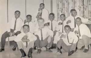 Sergeants at the Xmas Party 21 Dec 68