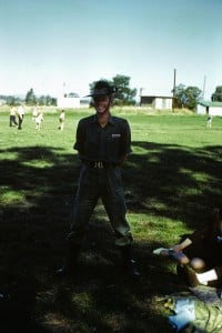 018 Geoff during training period - the raw recruit