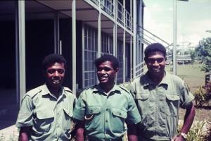 036 Three of Geoff's students