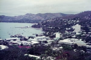 060 Port Moresby business area and harbour