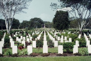 061 Bomana War Cemetery Port Moresby for Aussie and PNG soldiers killed in WW2