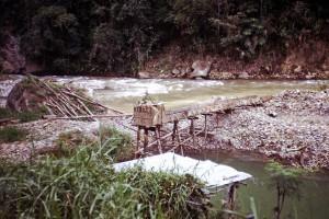 066 Trip to Wau possibly abandoned Bulolo Gold Mine