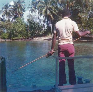 Fishing at Madang