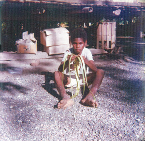 Local boy near Madang