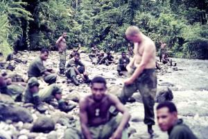 A break at a jungle stream