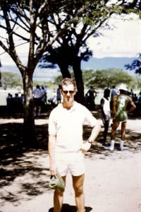 Peter Chard at Battalion sports day