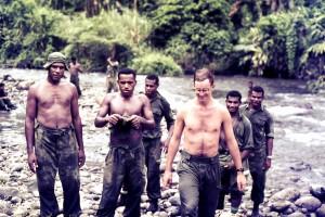 Sgt Peter Chard, Jack Ako & friends