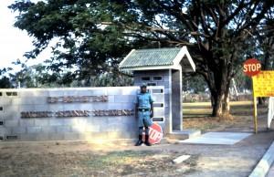 Guard at 1PIR (Taurama Bks)