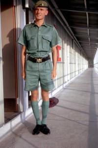 Sgt. Terry Edwinsmith in PIR Uniform