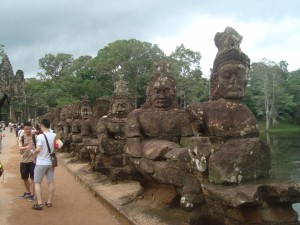 Siem Reap historical figures (at Angkor)