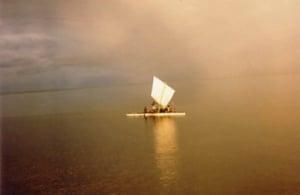Lakatoi in Niningo Lagoon