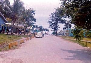 Wewak Main Street, 1963