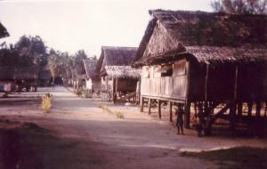 Wutung village  - PNG Border