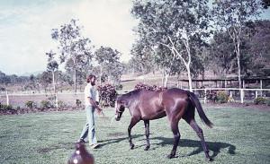 Bob Tozer, Port Moresby, 1974