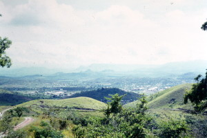 View of Port Moresby