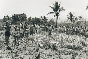 1PIR Mess Parade for members of the Sergeants' Mess at Kapa Kapa. (1968)