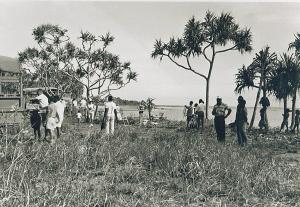 1PIR Sergeants' Mess Picnic at Kapa Kapa 1968