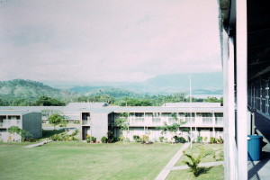 Company lines at Taurama Barracks