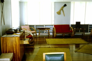 Inside married quarters at Taurama