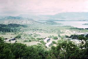 View from behind Taurama Barracks
