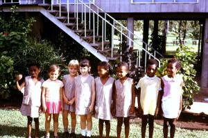 Taurama Primary School kids