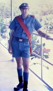 Sgt Leader as BOS