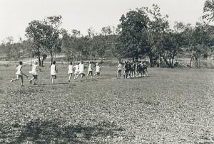 Girls Hockey Teams in Port Moresby, in winter 1968