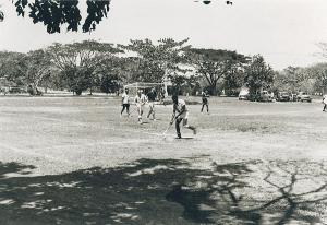 PIR Hockey Team vs Vikings  Probably played at OTC Grounds 1968