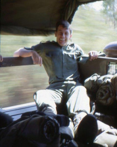 Ross Beer enjoying the ride