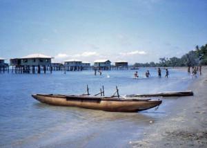 Outrigger canoe Hula
