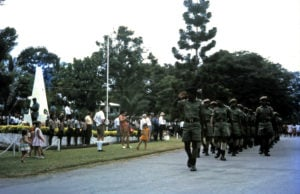 17 A passing parade